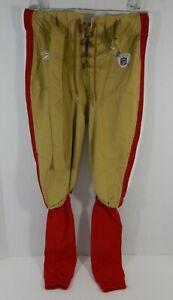 2009 San Francicso 49ers Frank Gore #21 Game Used Gold Football Pants 36 DP11228