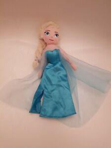 "Disney Frozen Elsa Soft Plush Doll 9.5 """