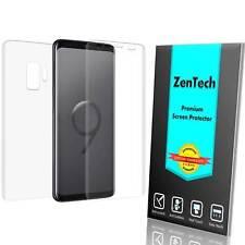 ZenTech® Samsung Galaxy S9 [FULL BODY] Clear Screen Protector Guard Film Shield