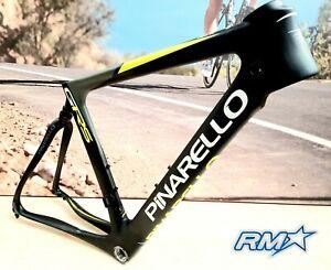 Pinarello GRS Disc Thru Axle 47cm Carbon Yellow Frame Set