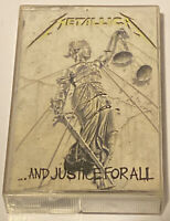 ...And Justice for All by Metallica (Cassette, Sep-1988, Elektra -NO CASSETTE!