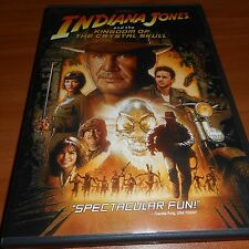 Indiana Jones and the Kingdom of the Crystal Skull (DVD, 2008, Widescreen) Used