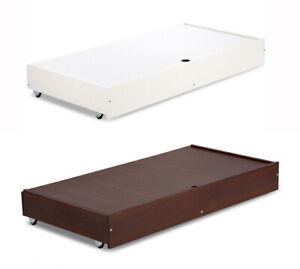 UNDER COT BED DRAWER 120x60cm ROLLAWAY STORAGE BOX