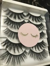 mink lashes 5 Pairs