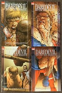 Daredevil #1,2,3,4 Battlin' Jack Murdock Marvel Comics Set Zeb Wells Lot Nm