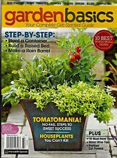 GARDEN BASICS COMPLETE GET-STARTED GUIDE 2017 MAGAZINE BRAND NEW! FREE SHIPPING