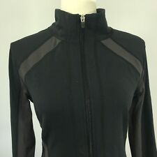 Women's LUCY Lightweight Jacket Black Medium / Thumb loops Exercise Running