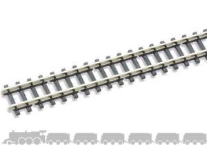 Z scale Wooden sleepered Flexitrack (nickel silver rail, Code 60) Peco SL-200
