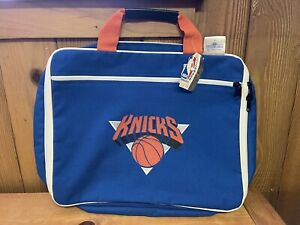 Official Licensed Vintage New York Knicks Bag By Athletic Bag Company