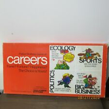 Vintage Parker Brothers 1971 Game of Careers Complete