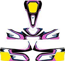 Le Stelle Rosa Custom Completo Kart Kit Adesivo-Kart-Go Kart-jakedesigns