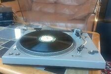 Technics SL-1500 Direct Drive turntable with odd mods and Micro Acoustic Cart