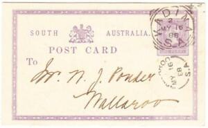South Australia POSTAL CARD-HG:1-PRIVATE PRINTED-LEGISTIVE COUNCIL ELECTION