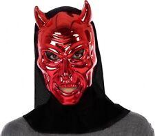 Masque de DIABLE Rouge Accessoire Déguisement Adulte Homme HALLOWEEN NEUF