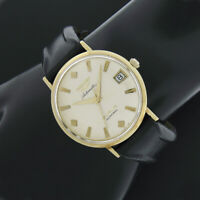 Men's 18k Gold Longines 5 Star Admiral Date Automatic Mechanical Wrist Watch