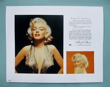 "Marilyn Monroe 11"" x 14"" Gold Dress Lithograph Priint by OSP publishing"