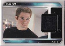 STAR TREK 2009 MOVIE CC1 CHRIS PINE KIRK COSTUME CARD PIECE WORN IN FILM