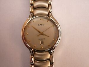 Rado Florence 129.3644.4 Quartz Date Sapphire Glass Swiss Men's Wristwatch
