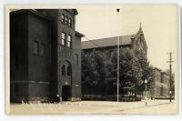 RPPC All Saints Church School ETNA PA Allegheny County Real Photo Postcard