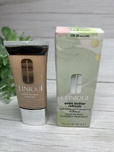 Clinique Even Better Refresh Hydrating Foundation 30ml #CN 28 IVORY (VF) NEW