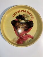 Vintage Olympia Beer Serving Tray, Advertisment