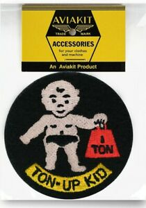 Ton Up Kid Patch by Lewis Leathers Aviakit