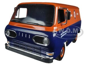 1963 1960'S FORD ALLIS-CHALMERS VAN W/ BOXES 1/25 DIECAST BY FIRST GEAR 40-0385