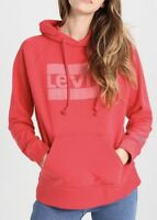 Levi's Women's Graphic Sport Hoodie In Washed Red