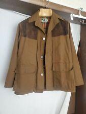 New listing Vintage Black Sheep Hunting Clothing Field Jacket Large Dallas Texas