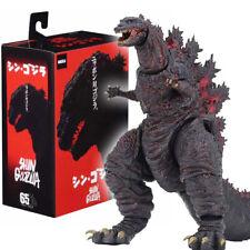 """NECA Shin Red Godzilla 6"""" Action Figure Kaiju 12"""" Head Tail Movie Classic Boxed"""