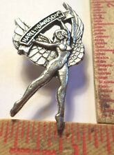 Vintage unusual 70s Harley pin old motorcycle collectible biker HD memorabilia