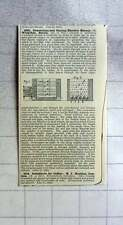 1883 C Wespthal Berlin Generating And Storing Electricity, Patent