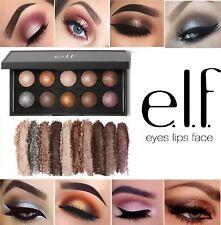 E.L.F. 'California' Baked Eyeshadow Palette ELF Nude Satin Shimmer Eye Make Up