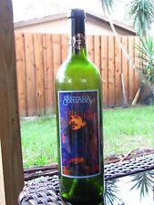 Empty Santana 1997 First Edition Label Release Unwine Bottle -Carlos  Santana