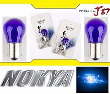 Nokya Light 1156 Blue 27W Nok5282 Two Bulbs Rear Turn Signal Replacement Lamp