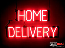 SpellBrite Ultra-Bright HOME DELIVERY Sign Neon look LED performance