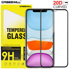 For iPhone 13 12 mini 11 Pro X XS Max XR Curved Tempered Glass Screen Protector