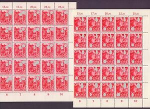 Deutsches Reich 1945 - 25 komplette Sätze MiNr 909/910 - Michel 2.000,00 € (434)