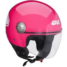 CASQUES JET MOTO SCOOTER GIVI H107 SUMMER ROSE MINIMO GABARIT VISIÈRE TG S