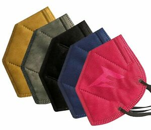 KN95 Face Mask Colored Male (Pack of 5)  Ply Free Ship From Canada