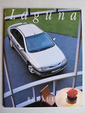 Prospectus RENAULT LAGUNA, 2.1995, 60 pages, lustre, plus grand DIN a4