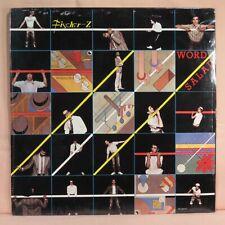 FISCHER-Z - Word Salad > 1979 1st US Issue LP  >  SEALED