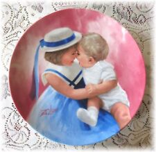Donald Zolan MOTHER'S ANGELS 1st Issue Mothers Day Collectors Plate Excellent