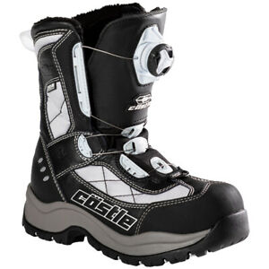 Womens Castle X Charge Boa Snowmobile Boots Winter Snow Waterproof Riding Boots
