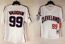 Major League Cleveland Indians Rick Vaughn coisa Selvagem Filme autêntico Jersey
