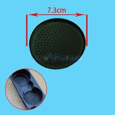Interior Water Cup Holder Rubber Insert 7.3CM Mat Pad For VW Jetta Golf MK5 EOS
