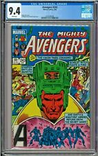 Avengers #243 CGC 9.4 White Pages The Vision