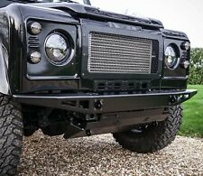 Land Rover Defender Stainless Steel 5mm Brute Front Bumper - Uproar 4x4