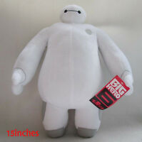 15'' DISNEY STORE BIG HERO 6 BAYMAX ROBOT Plush Stuffed Doll Kid Gift With Tag