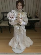 Fabulous Artisan Doll By Sue Coupe - Female Ghost With Her Baby